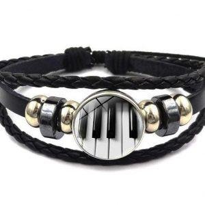 bracelet - leathery glass